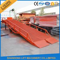 Wholesale Heavy Duty Container Loading Ramps / Unloading Ramps with 6T 10T 15T Loading Capacity from china suppliers