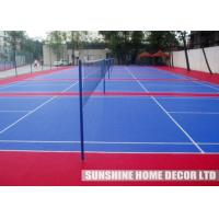Wholesale Red PP Synthetic Futsal Court Flooring With Anti Slip Waterproof from china suppliers
