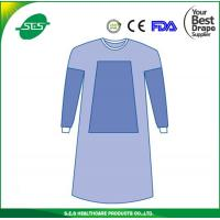 Wholesale Disposable SMS Sterile Surgical Gown With Knitted Cuff for medical use from china suppliers