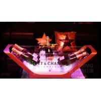 Wholesale Moet Chandon Champagne Bottle Glorifier Cooler LED Illuminated Ice Bucket from china suppliers