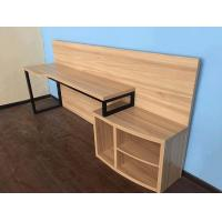 Wholesale Hotel Style Furniture Chipboard Narrow Bedroom Computer Table Nature Color from china suppliers