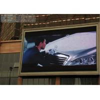 Wholesale 7500cd/m2 DIP LED Display / P10 Outdoor LED Screen with Meanwell Power supply from china suppliers