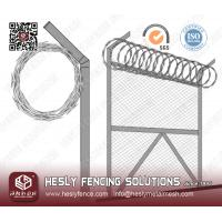 China Concertina razor wire supplier