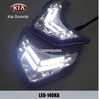 Wholesale KIA Sorento DRL LED Daytime Running Lights Car front driving daylight from china suppliers