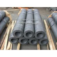 Wholesale Regular Powder Diameter 300mm  graphite electrode scrap With Nipple from china suppliers