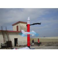 Wholesale Red Indoor Sky Dancers 5M Car Wash Wacky Inflatable Tube Man from china suppliers