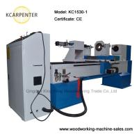Quality CNC Wood Turning Lathe KC1530-1 with 1 spindle working length ...