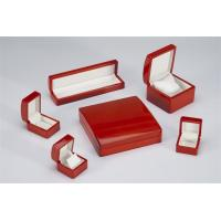 Wholesale Luxury Jewellery Packaging Boxes / Wooden Jewellery Presentation Boxes Lacquer Painted from china suppliers