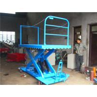 Wholesale 200KG - 1000KG stationary Scissor car lift double lift table / lift paltform from china suppliers