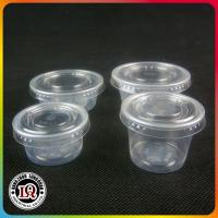 Buy cheap Chinese Disposable PP Plastic Portion Cup of Various Size with PET Plastic Lids from wholesalers