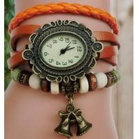 Wholesale Many Colors Bell Pendant Bracelet Design Female Watch Ladies Watch from china suppliers