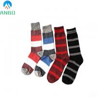 China custom knee high cotton dress socks for men on sale