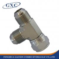 Wholesale CJ Carbon Steel JIC Male /JIC Female RUN TEE Hydraulic Adapter Fitting from china suppliers