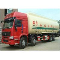 Wholesale Howo 8x4 Dry Cement Truck , Reliable Cement Transport Truck Axle Optional from china suppliers