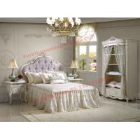Wholesale Exquisite Design and Workmanship for Lovely Girls Bedroom Furniture set in White Color from china suppliers