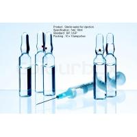 Buy cheap Sterile Parenteral Adminstration USP Sterile Water For Injection 10Ml plastic and glass ampoule from wholesalers