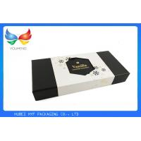 Wholesale Rectangle Disposable 2 Piece Gift Boxes With Lids , Custom Inner Padding from china suppliers