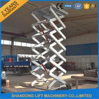 Wholesale Stainless Steel Scissor Dock Lifts Material Handling Equipment / Industrial Lift Tables from china suppliers