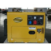 Wholesale 5kva Silent Running Diesel Generators , Soundproof Diesel Generator For Home from china suppliers