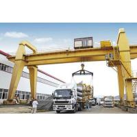 Wholesale 40 Ton 50 Ton 100 Ton Double Girder Rail Mounted Gantry Crane 18 - 35m Span from china suppliers