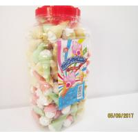 Wholesale Jar Packaging Snacks Ice Cream Shape  Fruity Flavor Marshmallow Candy ,  Customized Marshmallow Sweets And Soft from china suppliers