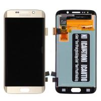 Wholesale OEM Samsung Galaxy S6 Edge SM-G925V/G925P/G925R4/G925I/G925F/G925A LCD Screen and Digitizer Assembly - Gold - Grade A from china suppliers