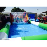 Wholesale Customized Commercial Inflatable Pool / Large Inflatable Swimming Pool For Water Roller Balls from china suppliers