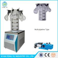 Wholesale FYJ-10C Manifold Laboratory Freeze Dryer Lyophilizer Manufacturers , Cheap Bench-Top  Multi-pipe Vacuum Freeze Dryer from china suppliers