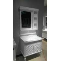 Wholesale Floor Standing Embossing PVC Bathroom Cabinet / Bathroom Decoration Furniture from china suppliers