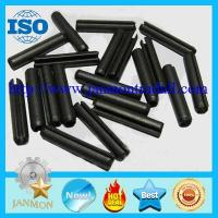 Buy cheap Black Slotted Spring Pin,Black spring steel roll pin,65Mn slotted pin,High tensile roll pin,Black dowel pin from wholesalers