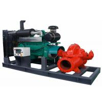 China 150mm Inlet Size Diesel Engine Water Pump Big Flow Diesel Engine Driven Pump on sale