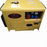 Wholesale 5kVA silent diesel generator with 186FA engine  from china suppliers