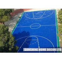 Quality Anti Uv PP Synthetic Interlocking Sports Flooring For Football Field for sale