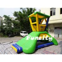 Wholesale 6mLx5mWx4.2mH Inflatable Water Toys 0.9mm PVC Tarpaulin Water Lifeguard Tower from china suppliers