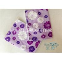 Wholesale Promotional Printed Microfiber Washcloth Clothing Towel , Window Cleaning Cloths from china suppliers