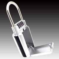 Wholesale Digital Password Key Master Security Cable Lock Box Sliver Zinc Alloy from china suppliers