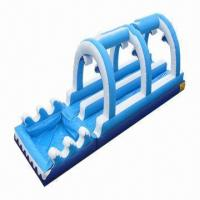 Wholesale Inflatable Pool Slide, Safety/Entertainment/Novelty and Permanent Color, Available in Various Colors from china suppliers