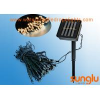 China 100 Bulbs Solar Lawn Decorative String Lights Built In Battery For Landscape on sale
