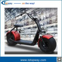 Wholesale Harley Electric Scooter 800w 1000w seev citycoco 2000w electric scooter with fat bike tire from china suppliers