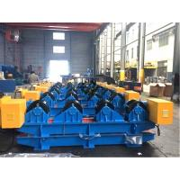 Wholesale 15 Ton Tank Turning Rolls With Motors / Gearbox Workpiece Dia. Range 600 - 4200mm from china suppliers