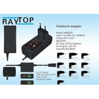 Wholesale 19V 3.42A Mini 65w Universal Laptop Power Adapter With Usb QC2.0 QC3.0 Type-C Port from china suppliers