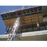 Wholesale 1 x 4 Kw Motor 2.4m Width Mast Climbing Work Platforms Facades for Office Building from china suppliers