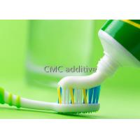 Quality Toothpaste Grade CMC Carboxy Methylated Cellulose Thickening Agent for sale