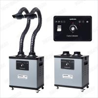 Wholesale 200 W F6002 Benchtop Fume Extractor For Soldering , Noise Reduction Design from china suppliers