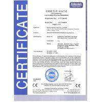 Forever Beauty Laser CO., LTD Certifications