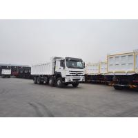 Wholesale SINOTRUK HOWO 8X4 Dump Truck  Heavy Duty Truck With 30m³ Cubage Capacity For Mining from china suppliers