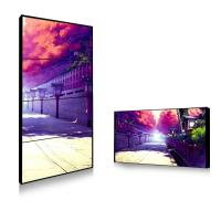 Wholesale Sun Readable Outdoor Thin Bezel Lcd Video Wall Hire Solution 450cd 750cd Brightness from china suppliers