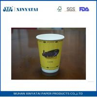 Wholesale Fruit Juice / Beverage Custom Paper Coffee Cups , Takeaway Coffee Cups for Hot Drinks from china suppliers