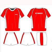 Wholesale Football Uniforms With Shirts And Shorts Sublimation Customized  Soccer Sportswear from china suppliers