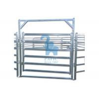 Wholesale Metal Pipe Corral Fencing Feedlot Corral Fence Panels‎ For Horse / Goat from china suppliers
